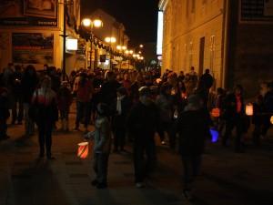 Lampiónový sprievod na Sv. Martina 2011